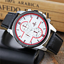 ieftine Ceas de buzunar-Bărbați Ceas de Mână Ceas Casual / Cool PU Bandă Casual / Modă / Ceas Elegant Alb