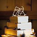 رخيصةأون ديكورات الطاولات-كعكة توبر فراشةButterfly Theme مونوغرام راتينج زفاف مع 1pcs OPP