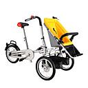 baratos Bicicletas-Bicicleta Dobrável Ciclismo 16 polegadas Freio a Disco Duplo Comum Dobrável Comum Aço / 2 a 3 anos / 3-5 Anos
