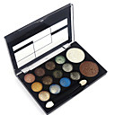 cheap Eyeshadows-12 Colors Eyeshadow Palette / Powders / Blush Eye / Face Waterproof Shimmer glitter gloss Coloured gloss Daily Makeup Cosmetic