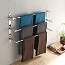 cheap Bathroom Accessory Set-Towel Bar High Quality Contemporary Stainless Steel 1 pc - Hotel bath 3-towel bar