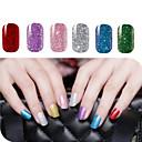 billige Heldekkende negleklistremerker-2 pcs Folie-klistremerke / Nail Sticker Glamorøst glitter Nail Art Design