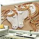 baratos Murais de Parede-Art Deco 3D Decoração para casa Moderna Revestimento de paredes, Tela de pintura Material adesivo necessário Mural, Cobertura para