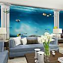 abordables Murales-Art Decó Decoración hogareña Moderno Revestimiento de pared, Lona Material adhesiva requerida Mural, Revestimiento de paredes de