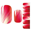 cheap Full Nail Stickers-Flower / Fashion 3D Nail Stickers Lovely Daily