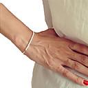 رخيصةأون أساور-نساء أساور حبلا تصميم فريد حصى مصنوع يدوي والمجوهرات موضة اللؤلؤ مجوهرات مجوهرات من أجل حزب يوميا هدايا عيد الميلاد