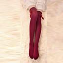 preiswerte Strümpfe-Strümpfe / Strumpfhosen Bänder Mit Schleife Damen Rot Schleife Strümpfe Baumwolle Kostüme