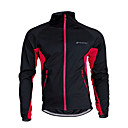 cheap Cycling Jackets-Nuckily Unisex Cycling Jacket Bike Jersey / Top Thermal / Warm, Windproof, Breathable Patchwork Polyester, Fleece Black / Red / Black /