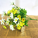 cheap Artificial Flower-Artificial Flowers 1 Branch Pastoral Style Daisies Tabletop Flower