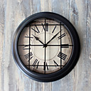 cheap Holiday Party Decorations-Modern / Contemporary / Retro Acrylic / Glass / Metal Round Indoor / Outdoor,AA Wall Clock
