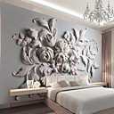 cheap Wall Murals-Mural Canvas Wall Covering - Adhesive required Art Deco 3D