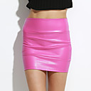 cheap Car Headlights-Women's Going out Bodycon Skirts - Solid Colored