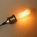 cheap Incandescent Bulbs-1pc 25 W E26 / E26 / E27 / E27 ST58 Warm White Incandescent Vintage Edison Light Bulb 220-240 V / 110-130 V
