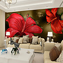 رخيصةأون معلقات الجدران-ورد الفني 3D تصميم ديكور المنزل معاصر تغليف الجدران, كنفا مادة لاصق المطلوبة جدارية, غرفة الكوفيرينج