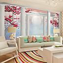 preiswerte Wandgemälde-Art Deco 3D Haus Dekoration Klassisch Wandverkleidung, Segeltuch Stoff Klebstoff erforderlich Wandgemälde, Zimmerwandbespannung