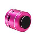 billige Strømadapter og strømkabler-D3+ Mini Support Minnekort Support FM Surroundlyd Innbygd Mikrofonen 3,5 mm AUX USB trådløs høyttaler Svart Sølv Fuksia Lyseblå