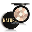 cheap Eyeshadows-Powders Dry Coloured gloss / Coverage / Long Lasting Eye / Lip / Face Makeup Cosmetic