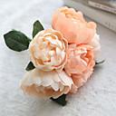 olcso Művirág-Művirágok 1 Ág Esküvői virágok Bazsarózsák Asztali virág