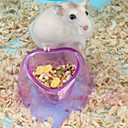 baratos Acessórios para Pequenos Animais-Roedores Plástico Tigelas e Bebedouros Roxo / Rosa / Azul