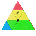 billige Rubiks kuber-Rubiks terning YongJun MoYu Pyraminx 3*3*3 Let Glidende Speedcube Magiske terninger Puslespil Terning Professionelt niveau Glat Farverig