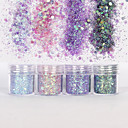 baratos Strass & Decorações-10ml Glitter & Poudre / Paetês / Pó Glitters / Clássico Diário