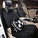 preiswerte Autositzbezüge-ODEER Autositzbezüge Sitzbezüge Weiß Beige Kaffee Rot Textil PU-Leder Geschäftlich for Universal
