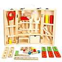 cheap Toy Tools-Tool Box Toy Tool Simulation Safety Wooden Boys' Kid's Gift