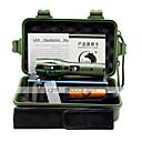 abordables Linternas y Luces de Cámping-U'King ZQ-G7000A Linternas LED LED 1000 lm 5 Modo LED con pila y cargadores Zoomable Enfoque Ajustable Regulable Alta Potencia Fácil de