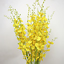 cheap Artificial Flower-Artificial Flowers 10 Branch Pastoral Style Orchids Tabletop Flower