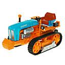 baratos Caminhões de brinquedo e veículos de construção-KDW Veículo de Fazenda Trator Caminhões & Veículos de Construção Civil Carros de Brinquedo 1:18 Retratável Simulação Plástico ABS 1 pcs Crianças Para Meninos Para Meninas Brinquedos Dom
