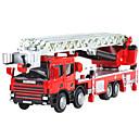 billige Toy Trucks & Construction Vehicles-Brannbil Leketrucker og byggebiler Lekebiler Inntrekkbar Metallisk Plast ABS 1 pcs Barne Gutt Jente Leketøy Gave