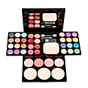 cheap Eye Kits & Palettes-Eyeshadow Palette Cream Blush Makeup Eye Lip Face Dry Whitening Coloured gloss Long Lasting Cosmetic Grooming Supplies