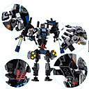 baratos Carros Controle Remoto-GUDI Robô Blocos de Construir 901 pcs Dinossauro Máquina Robô Transformável Nível Profissional Legal Para Meninos Brinquedos Dom