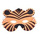 olcso Maszkok-Állatmaszk Tigris Műanyag Felnőttek Uniszex Fiú Lány Játékok Ajándék 1 pcs