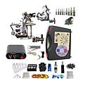 billige Fjernstyrte quadcoptere og multirotorer-BaseKey Tattoo Machine Startkit, 2 pcs tattoo maskiner med 10 x 5 ml tatovering blekk - 2 x stål tatoveringsmaskin til lining og