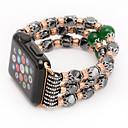 رخيصةأون الاكسسوارات ساعة ذكية-اليشم العقيق حبات اللؤلؤ حزام اليدوية والمجوهرات ل أبل ووتش إيواتش 38 ملليمتر 42 ملليمتر