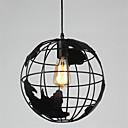 povoljno Viseća rasvjeta-20cm vintage kreativni zemaljski globus privjesak svjetla dnevni boravak restoran dječja soba