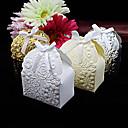 preiswerte Gastgeschenk Boxen & Verpackungen-Kreisförmig Quadratisch Kreativ Kartonpapier Geschenke Halter mit Bänder Print Geschenkboxen