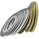 preiswerte Nagel-Funkeln-8rolls/set Aufkleber & Tapes / Folienaufkleber 3D / Nagel-Kunst-DIY-Werkzeug-Zubehör Werkzeuge & Zubehör / Nagel-Kunst-Design