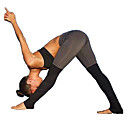 abordables Ropa de fitness, running y yoga-Mujer Retazos Pantalones de yoga Deportes Sexy, Moda Licra Pantalones / Sobrepantalón Pilates, Ejercicio y Fitness, Running Ropa de