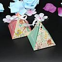 preiswerte Gastgeschenk Boxen & Verpackungen-Kartonpapier Geschenke Halter mit Bänder Geschenkboxen - 50