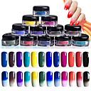 baratos Kits & Conjuntos para Unhas-12pcs Glitter & Poudre / Pó Glitters / Clássico / Neon & Bright Diário