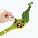 cheap Racks & Holders-Creative Long Handle Spoon Large Colander Scoop Strainer Nonstick Colander Spoons Kitchen Accessories
