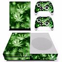 رخيصةأون اكسسورات Xbox 1-B-SKIN XBOX ONE  S PS / 2 لاصق من أجل اكس بوكس واحد S ، حداثة لاصق PVC 1 pcs وحدة