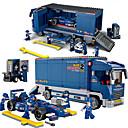 baratos Toy Motorcycles-Sluban Carros de Brinquedo / Blocos de Construir / Brinquedos de Montar 641 pcs Carro / Carro de Corrida Criativo / Faça Você Mesmo