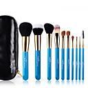 hesapli Fırın Gereçleri-10pcs Makyaj fırçaları Profesyonel Fırça Setleri Keçi Kılı Fırça / Midilli Atı Fırça / Naylon Fırça Hipoalerjenik / Bakterileri Kısıtlar