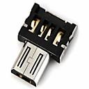 זול דיסק נייד USB-dm USB למתאם OTG מיקרו זכר USB תואם USB דיסק / טלפון / טאבלט וכו '