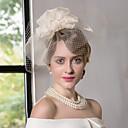 preiswerte Parykopfbedeckungen-Seide / Netz Fascinatoren / Hüte mit 1 Hochzeit / Besondere Anlässe / Normal Kopfschmuck