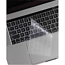 cheap Keyboard Accessories-XSKN® Ultra-thin and Transpar TPU Keyboard Skin and Touchbar Protector for 2016 Newest MacBook Pro 13.3/15.4 with Touch Bar Retina US Layout