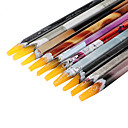 cheap Nail Glitter-1pcs rhinestones bead picker wax resin pencil nail art dotting tool point pen
